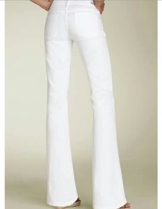 Citizens of Humanity Super Flare Jeans (White)